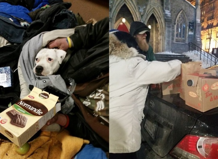 Community Wings Helps Homeless in Downtown Montreal