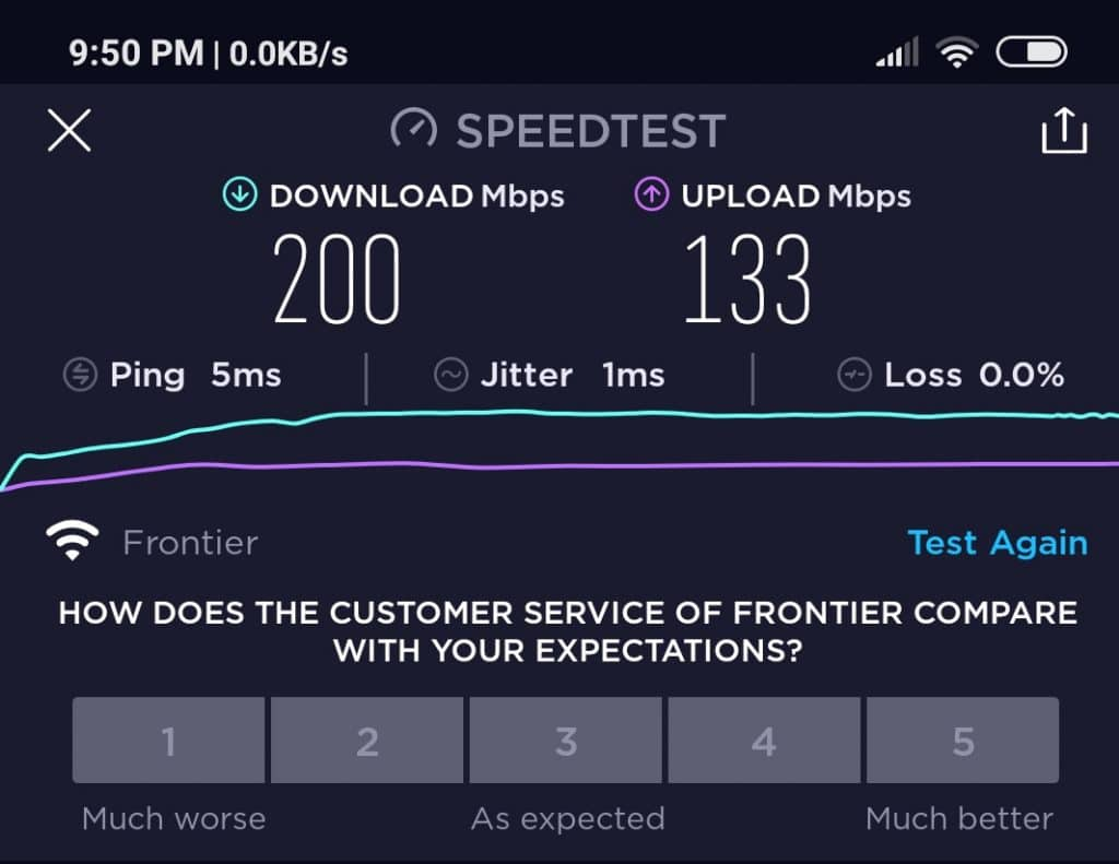 200Mbps Speed Good for Gaming