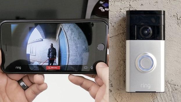 A smart home doorbell system