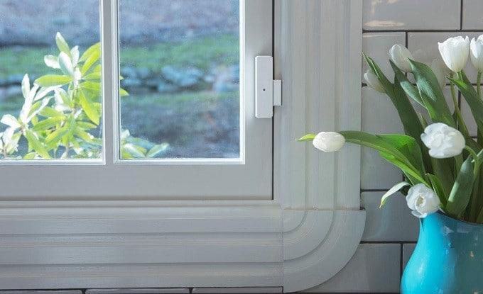 A window security sensor