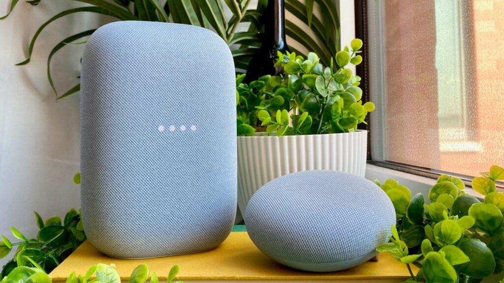 Compatible Google Home speakers