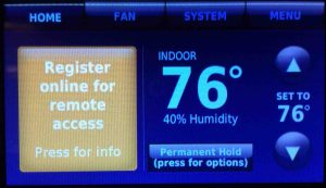 Connect Your Thermostat to Your Wi-Fi Network