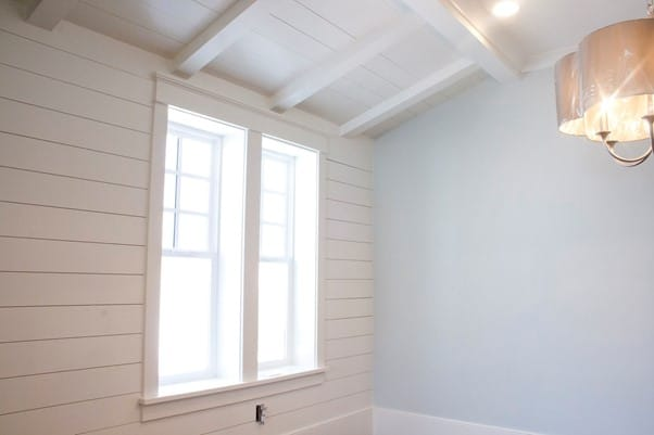 Does Shiplap Go Over Drywall