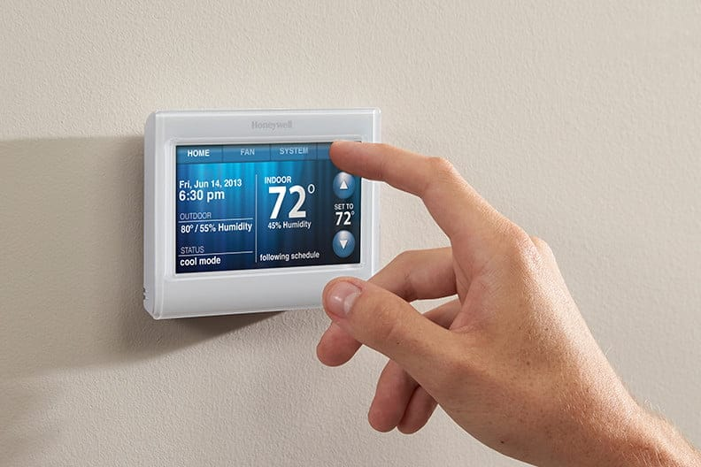 Honeywell Thermostat Wi-Fi Setup and Register