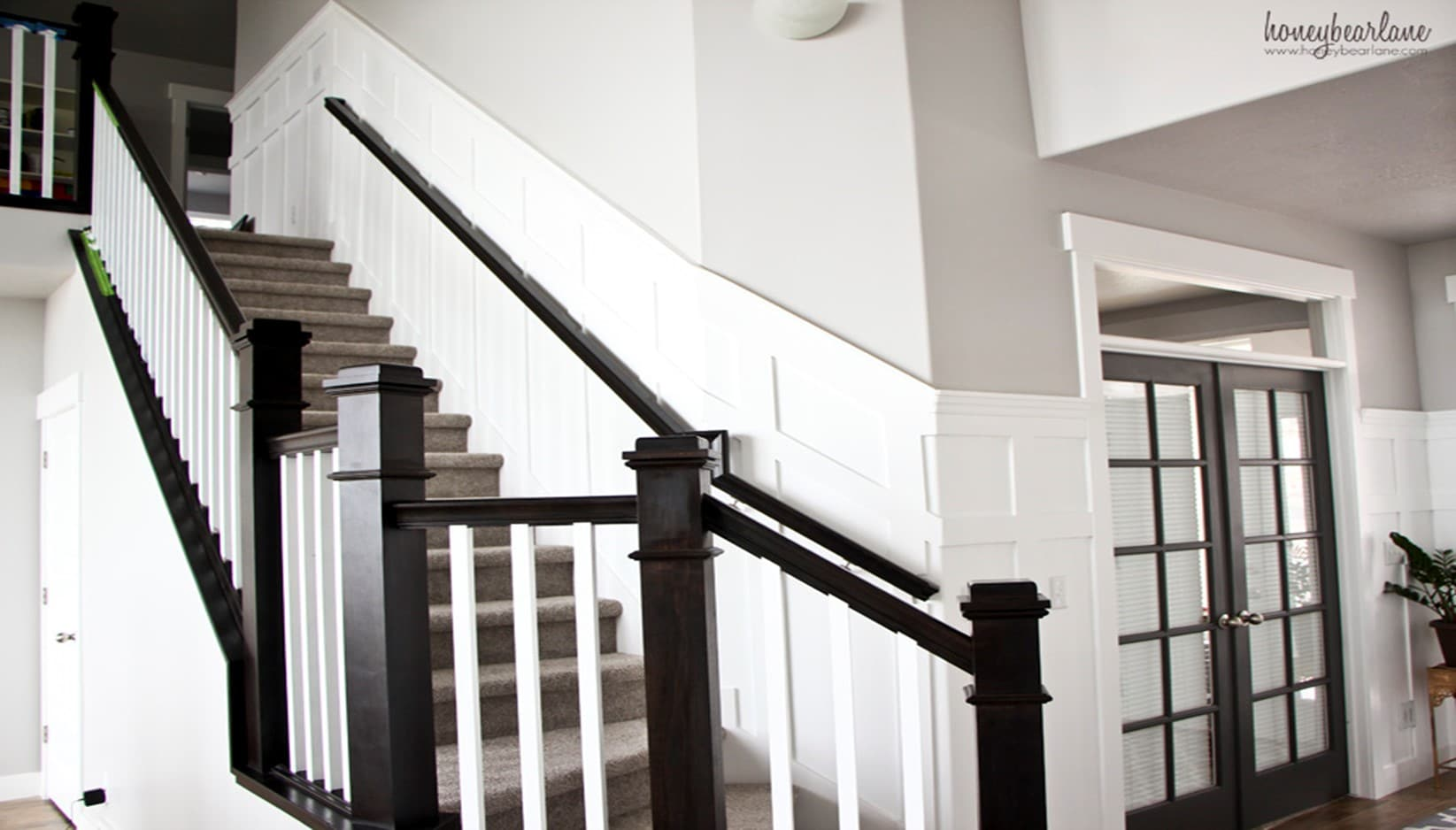 How to Add Wainscoting on Your Stairs: DIY Guide