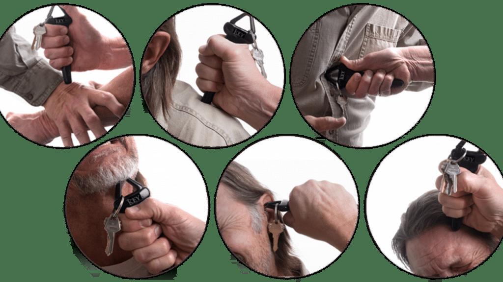 Self-defense keys