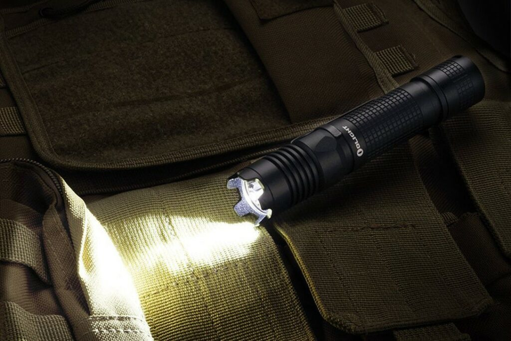 Tactical flashlights for self-defense
