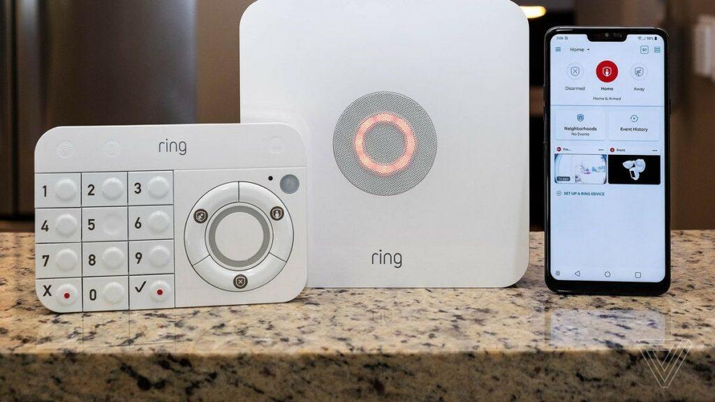 The Ring Alarm kit