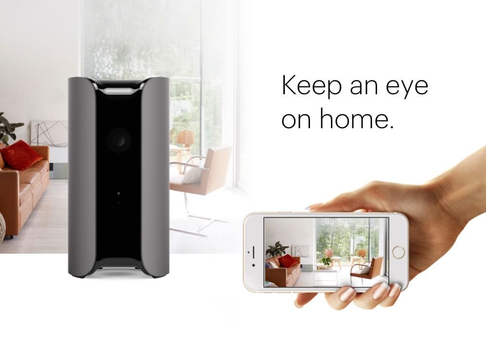 The canary smart alarm system