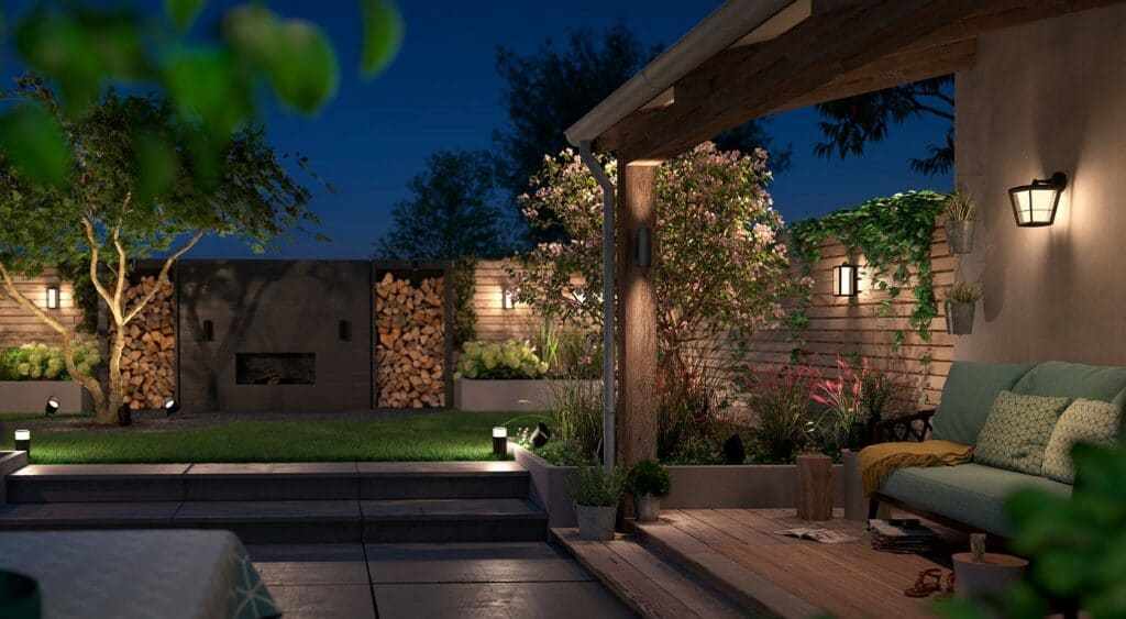 The smart outdoor lighting system