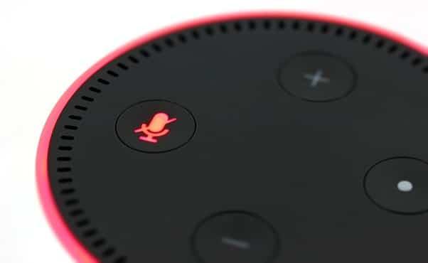 Alexa Flashing Red