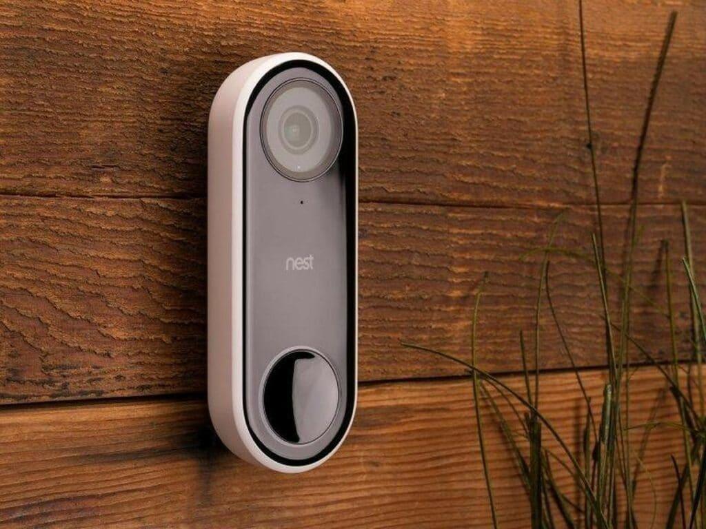 The Nest Hello video doorbell